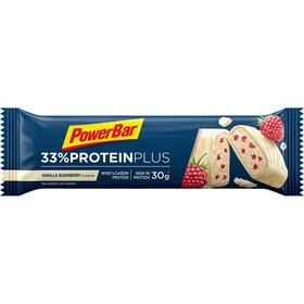 PowerBar ProteinPlus 33% Bar Box 10x90g, Vanilla-Raspberry